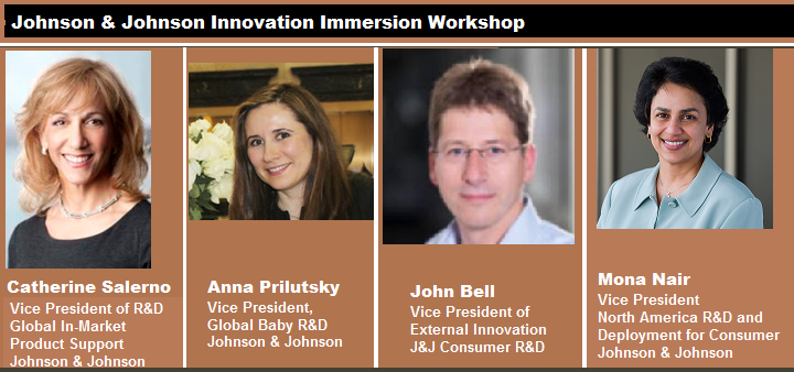 use Johnson and Johnson Innovation Immersion Workshop Panel